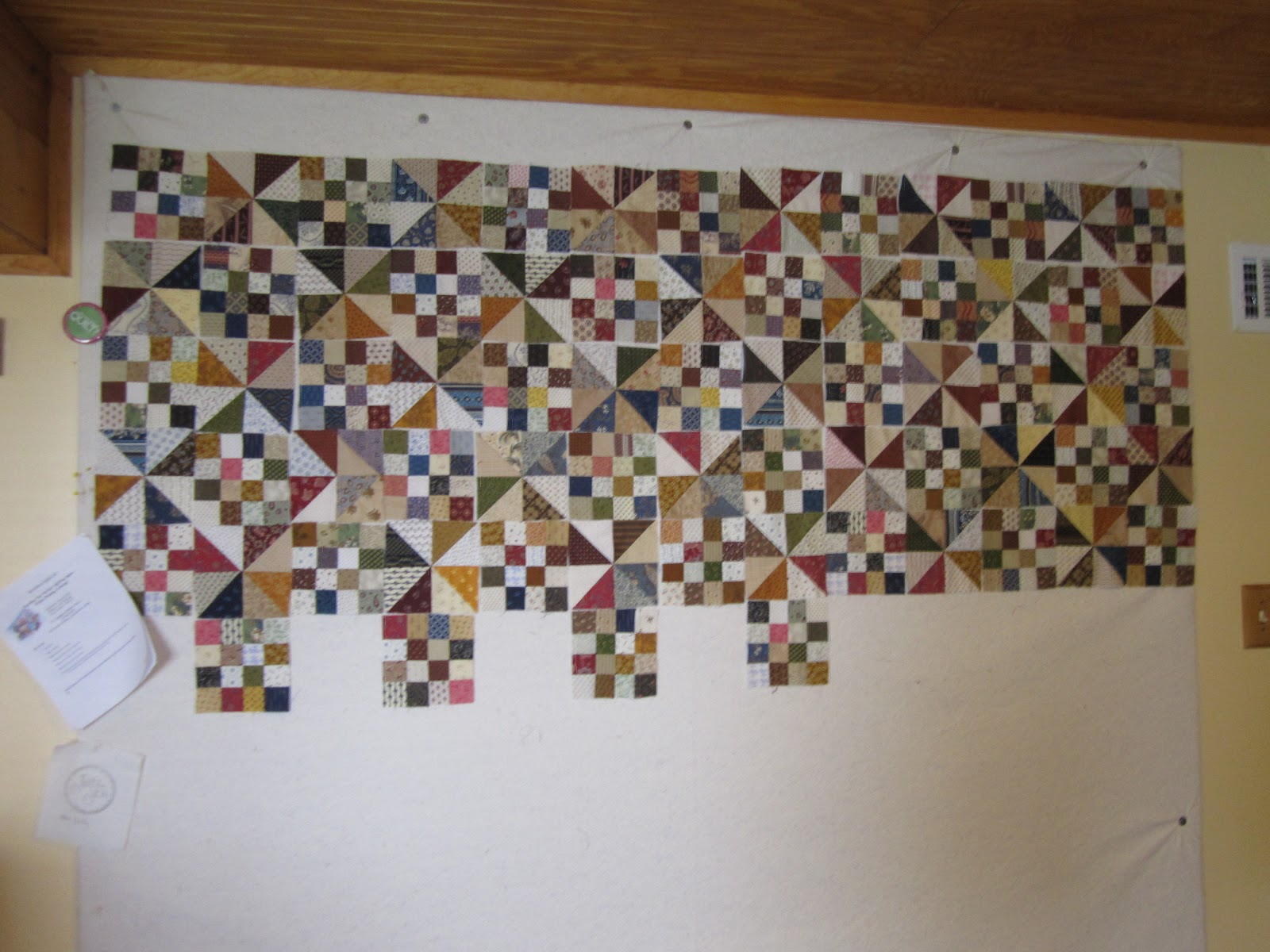 The Quilting Booklady Design Wall Monday