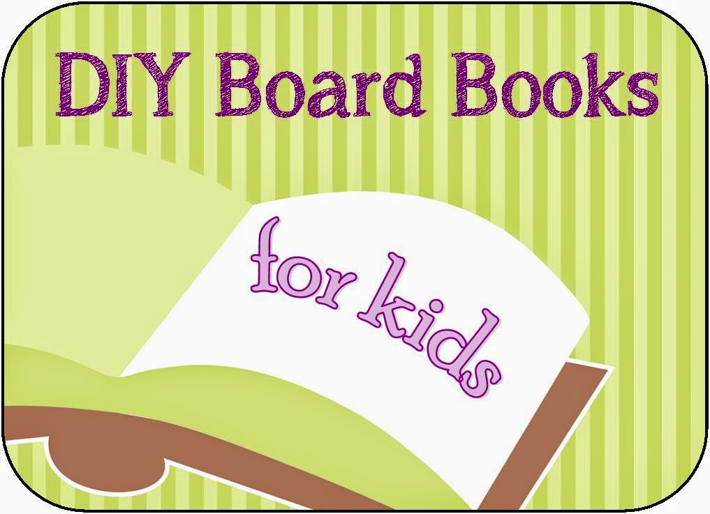 DIY Board books for kids