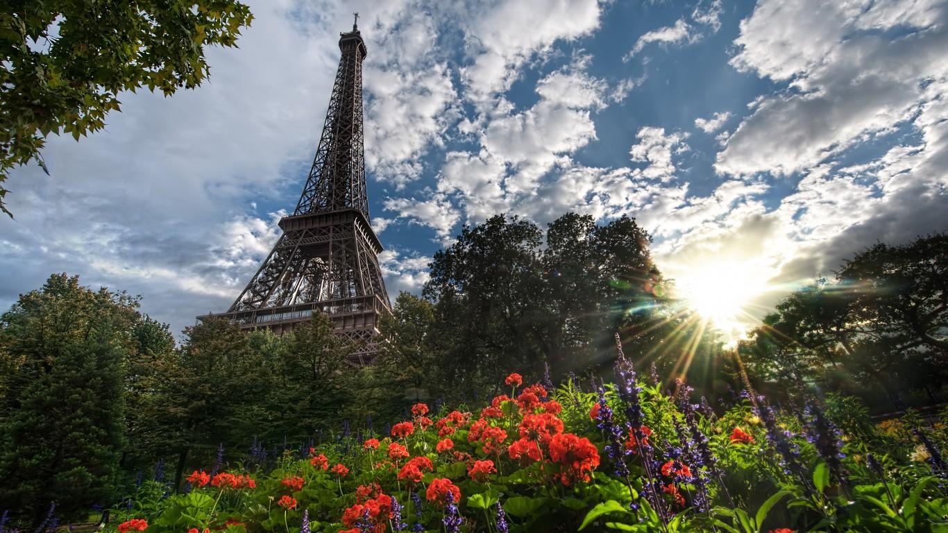 идеальное лето в париже
