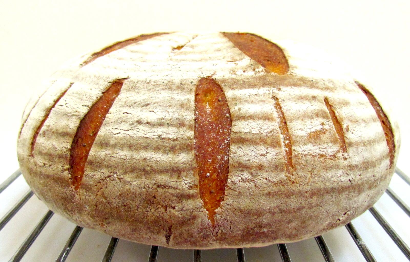 Белый хлеб на закваске своими руками