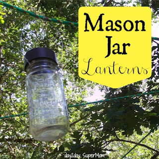 Mason Jar Solar Lanterns ~ DIY Friday
