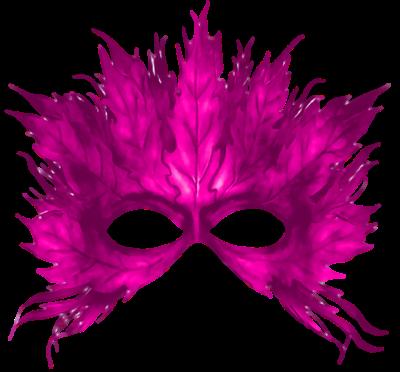 Máscara Carnaval PNG - Natureza purpura