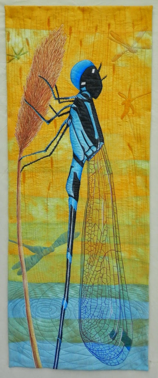 The Slightly Mad Quilt Lady Summer Dragonfly The