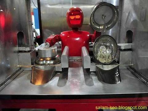Uniknya Restoran Robot