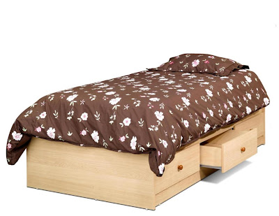 kid bed from wood