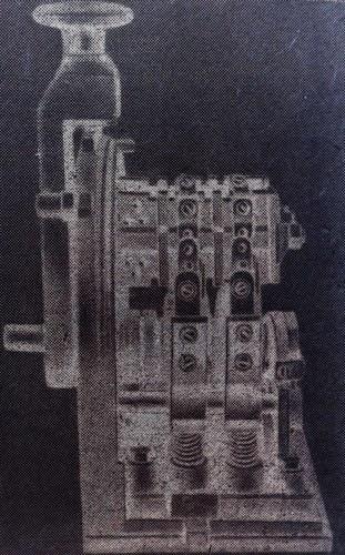 Общий вид кулачкового командоконтроллера