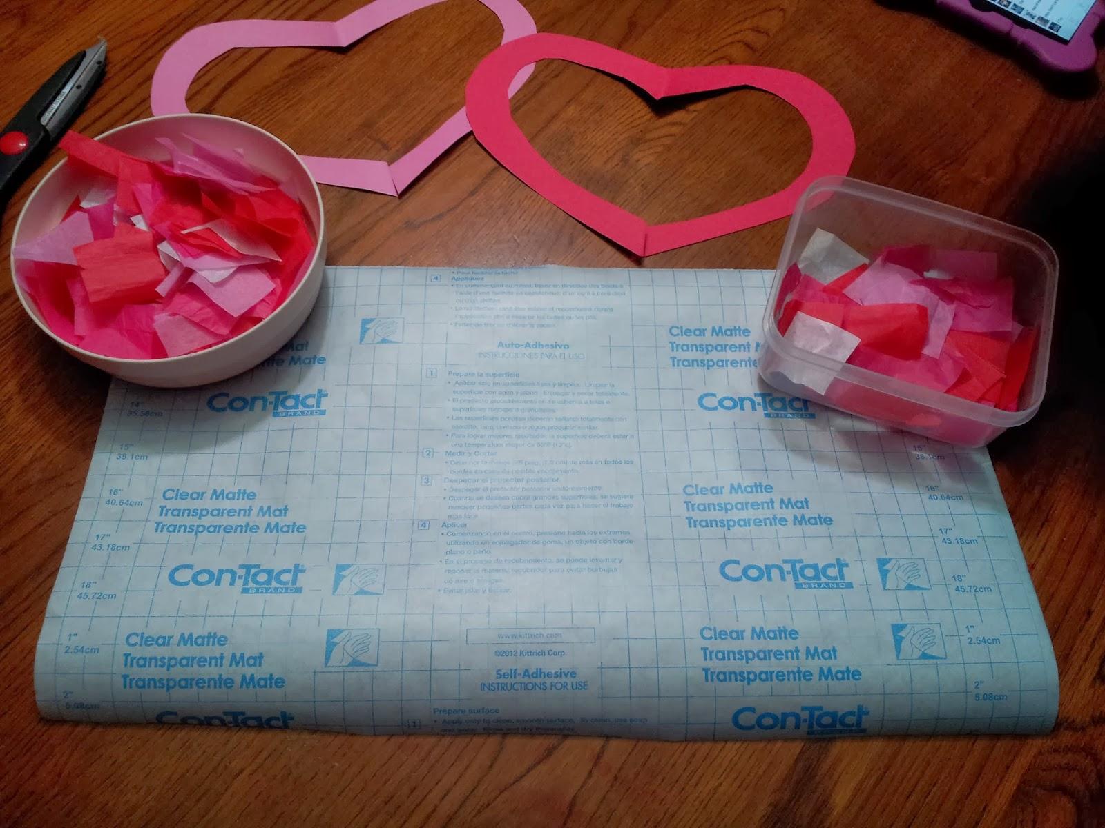 Working Mom Wonders: Valentine\'s Day Suncatcher