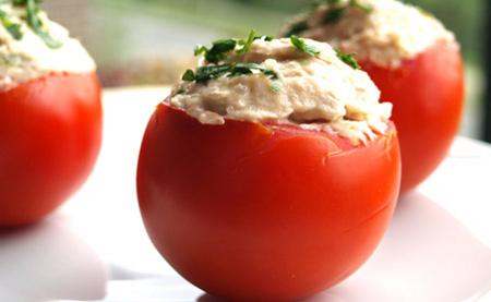 Tomates rellenos 0% materia grasa
