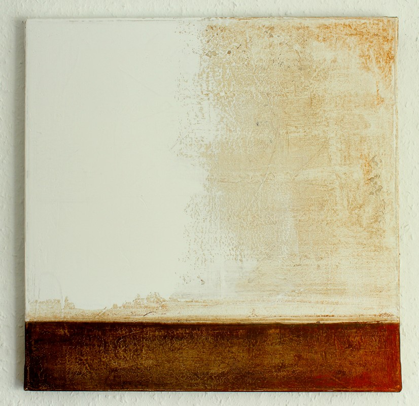 Christian hetzel brown white painting for White canvas to paint