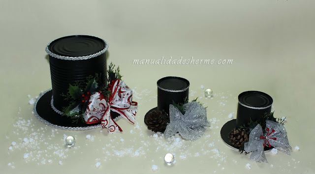Manualidades herme como hacer sombreros decorativos para - Como hacer lazos decorativos ...