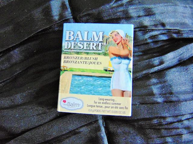 Birchbox August #beautyjunkie balm desert bronzer