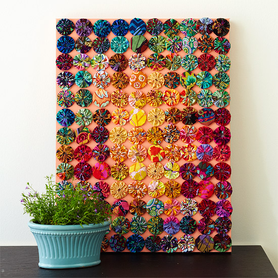 Pinterest everything garden crafts just b cause - Cloth wall hanging designs ...