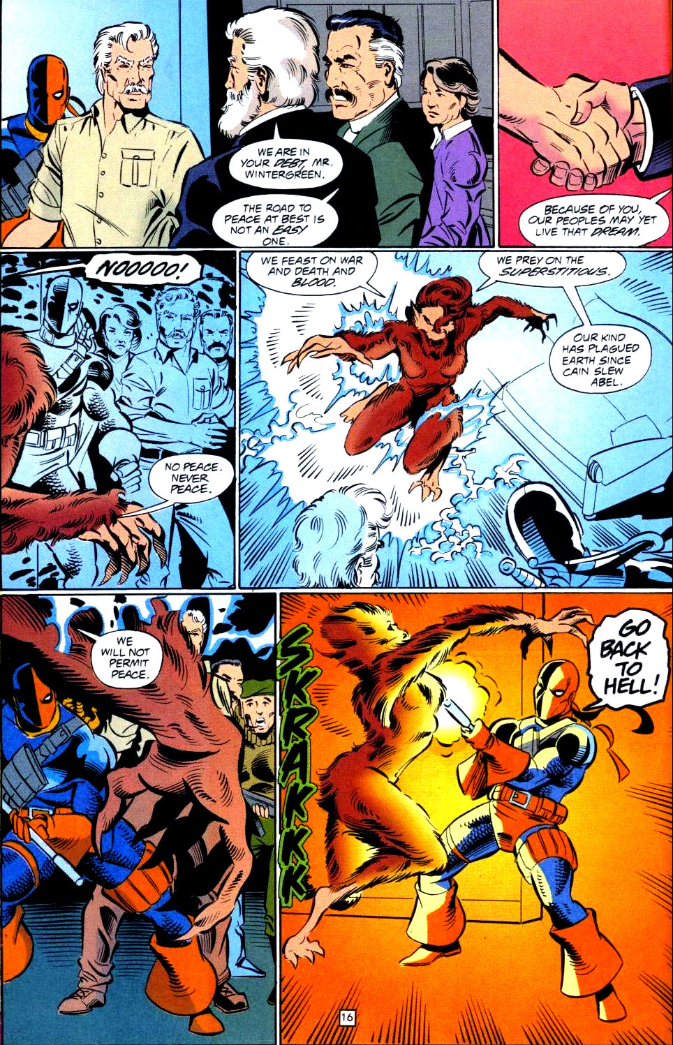 Deathstroke (1991) Issue #38 #43 - English 17