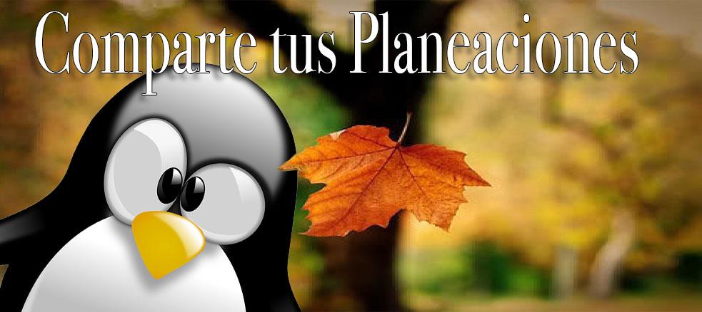 Comparte tus Planeaciones