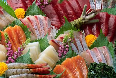 hải sản là thực phẩm chống lão hóa da