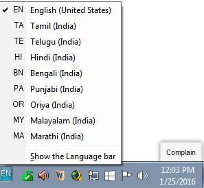 how to install microsoft indic language input tool hindi in windows 10