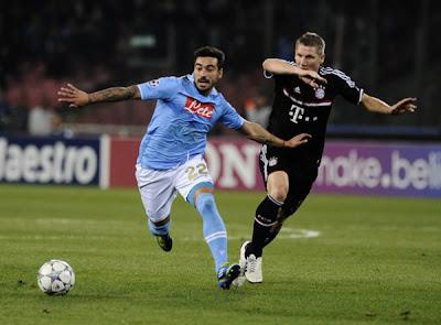 Napoli 1 - 1 Bayern Munich (1)
