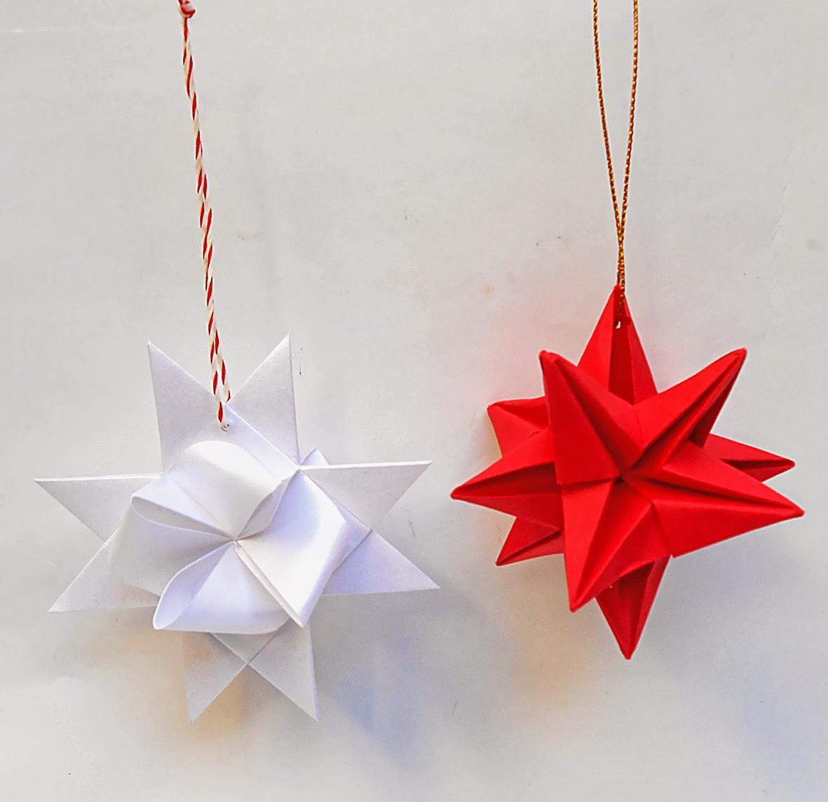 mas origami adornos navide os