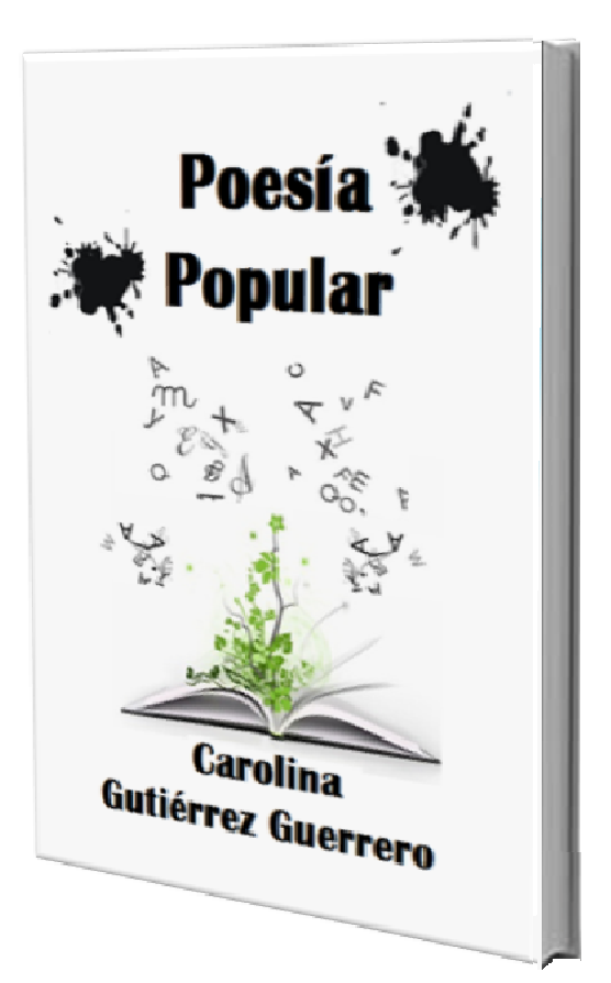 """libro """"Poesía Popular """""""