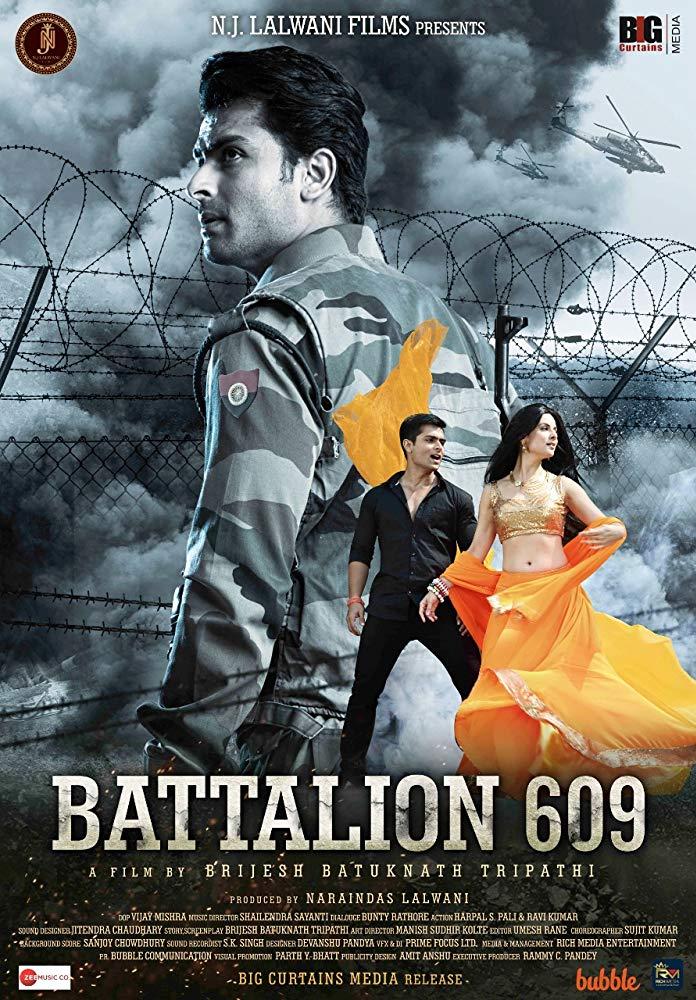 Battalion 609 (2019) Hindi 720p Pre Rip x264 1.GB