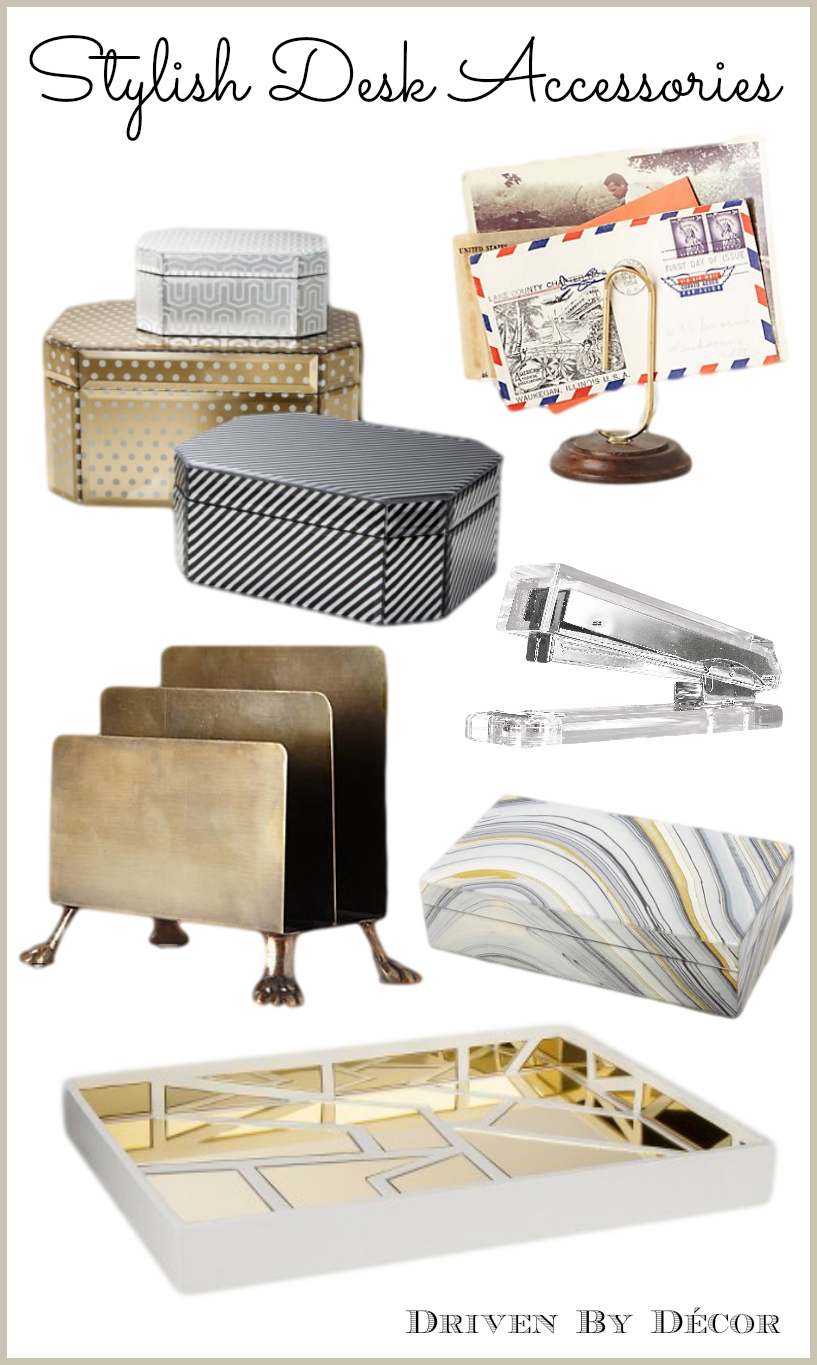 A stylish organized desk favorite accessories driven for Accessories for decoration