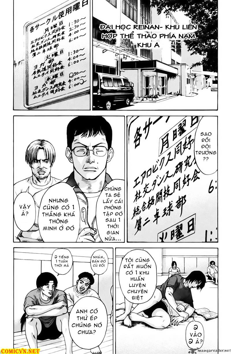 Karate Shoukoushi Kohinata Minoru chap 32 Trang 9