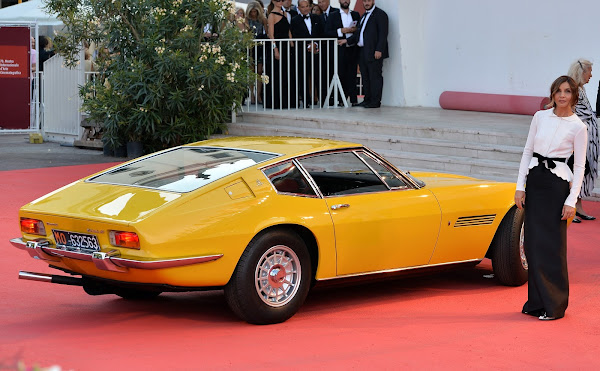 Festival de Venecia, Maserati, cine, coches, deportivos