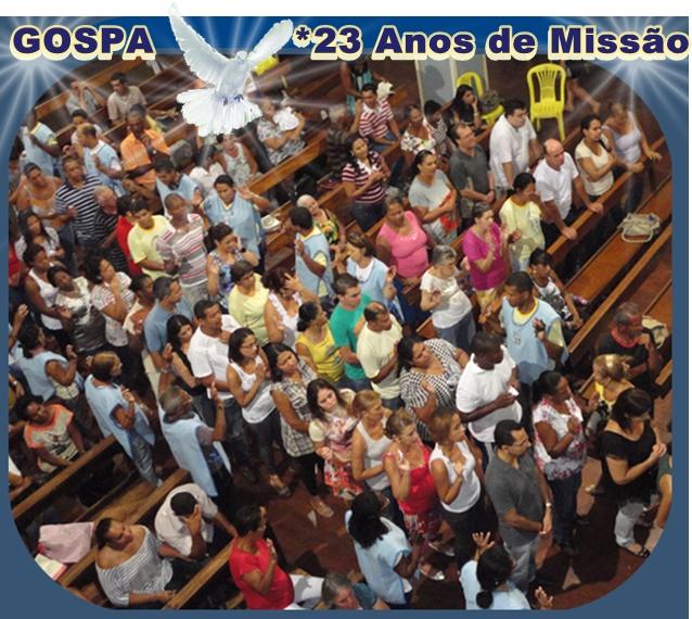MISSÃO GOSPA / RCC:                                              A  Serviço  de  JESUS  com  MARIA!