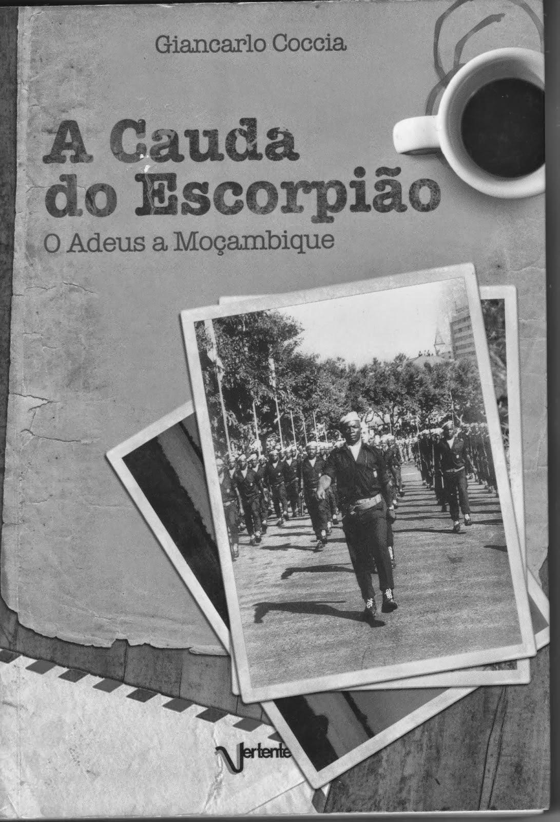 """Livros publicados no blog : """"A cauda do escorpião"""""""