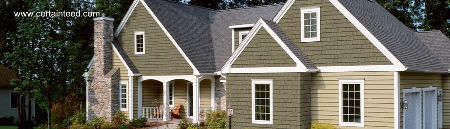 Arquitectura de casas siding de madera para exteriores de for Cubiertas para casas