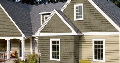 Arquitectura de casas siding de madera para exteriores de - Vinilos decorativos para exteriores ...