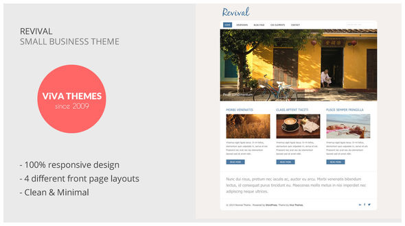 Revival – Small Business WP Theme
