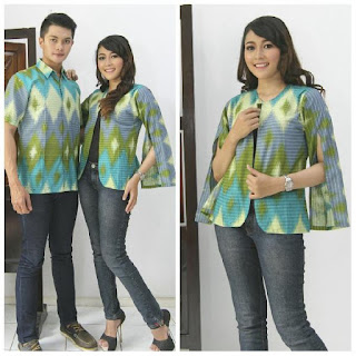 model baju batik pasangan motif rang rang