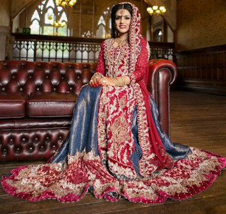 Selected Indian  Pakistani exclusive bridal dresses Collection 2013
