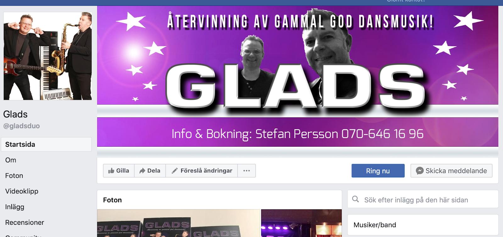 Besök Oss På Facebook!