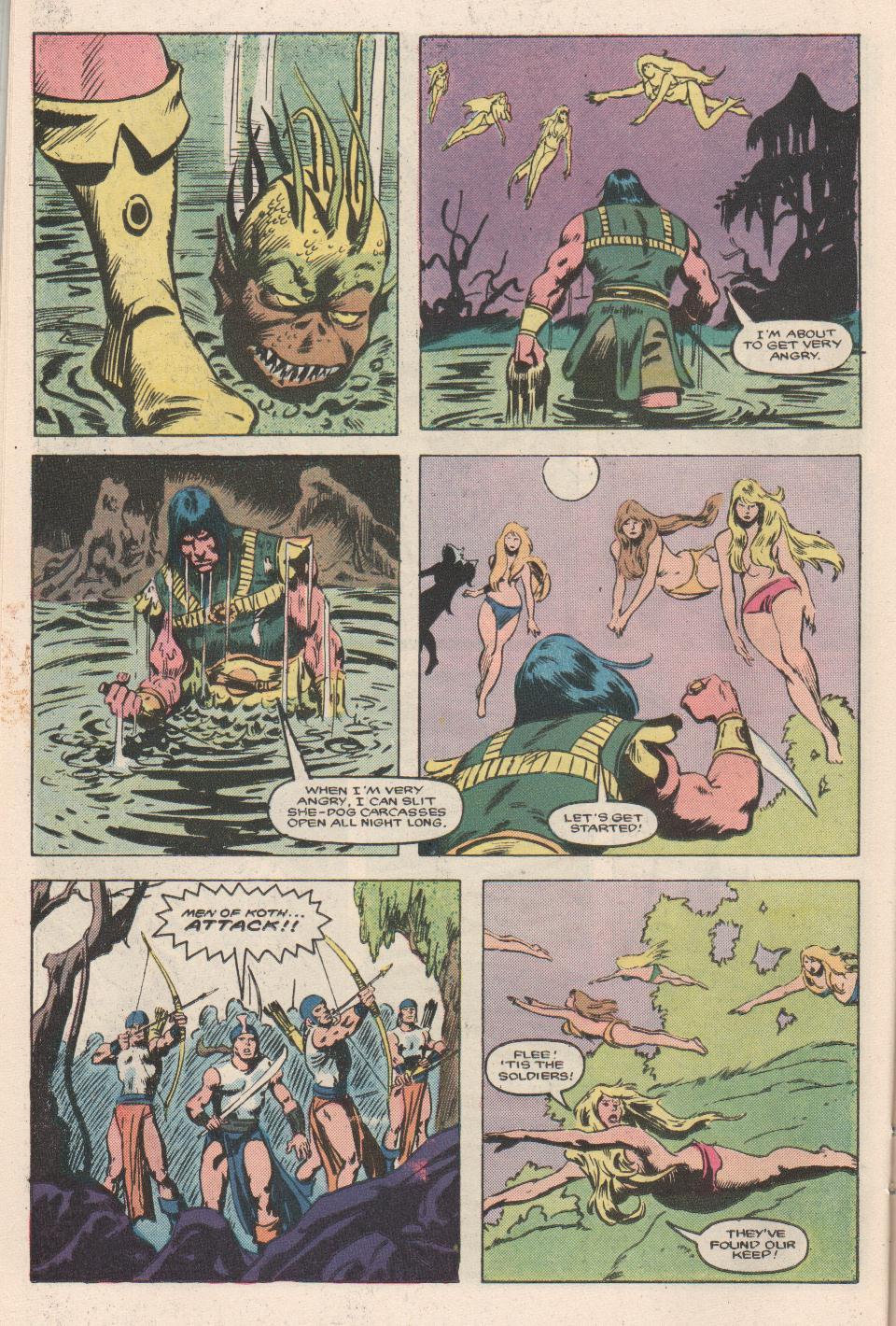 Conan the Barbarian (1970) Issue #180 #192 - English 17