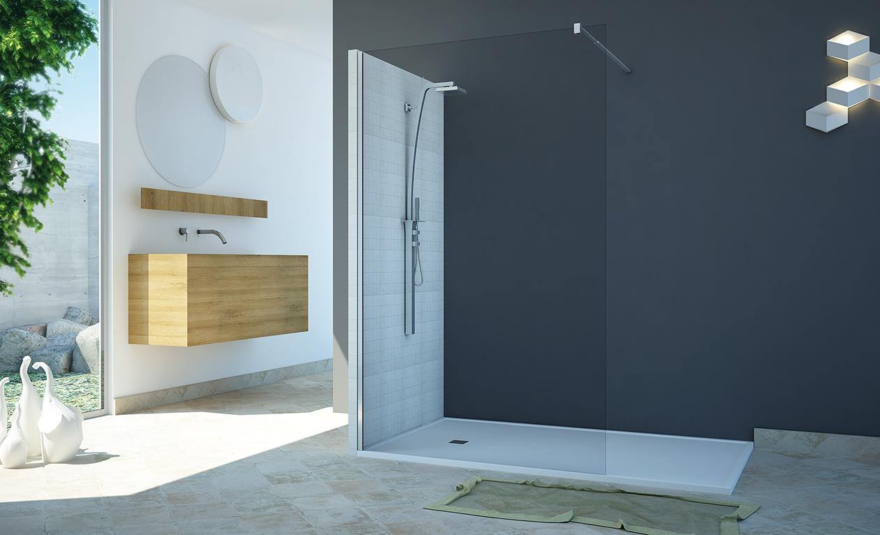 fijo mampara valencia precio panel ducha