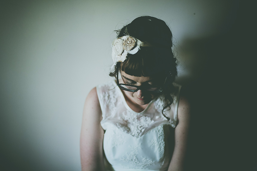 brown paper parcel wedding photography