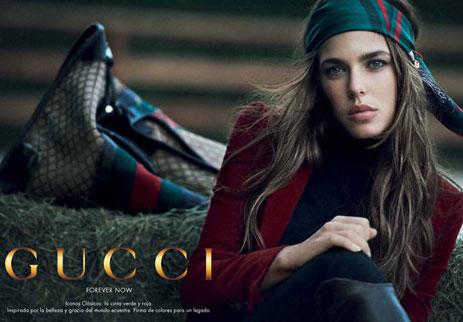 Carlota Casiraghi Gucci
