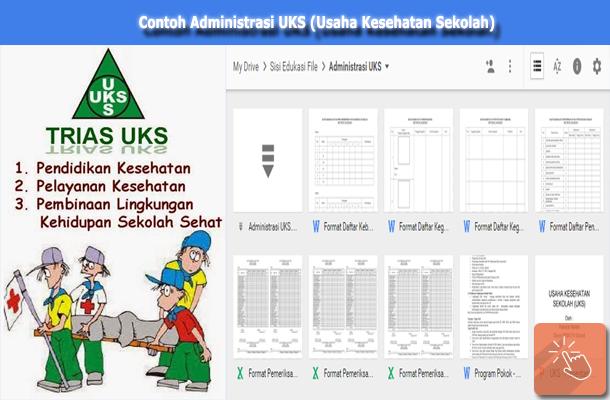 Contoh Administrasi UKS (Usaha Kesehatan Sekolah)