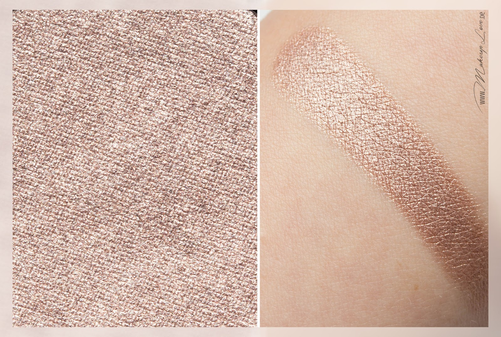 MAC A novel of romance LE Electric Cool Eye Shadow Superwatt Swatch