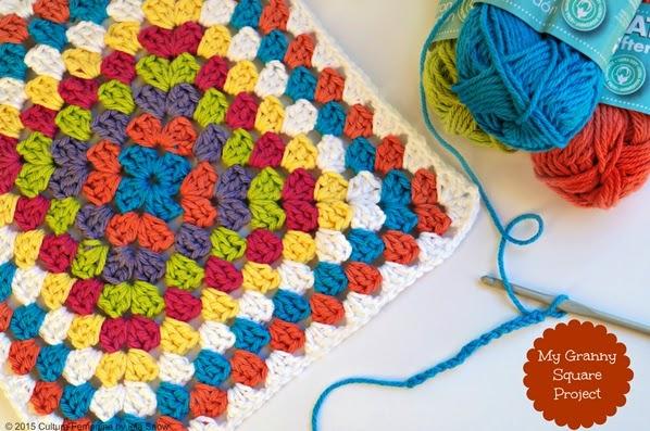 Proyecto - Mi manta con Granny Squares   Cultura Femenina