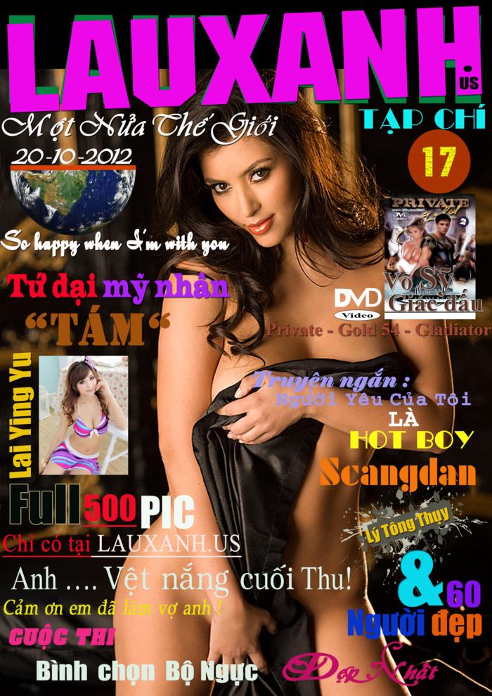 Magazines Tạp Chí ngưới lớn Việt Nam 18+ LAUXANH số 17