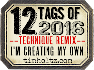 I'm creating my own 12 tags of 2016