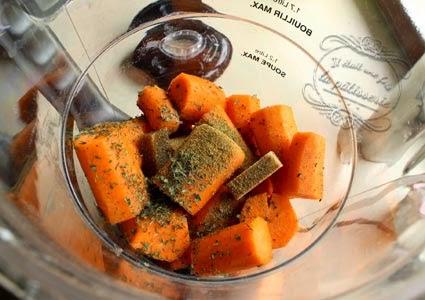 soupe carotte cumin au blender chauffant il tait une fois la p tisserie. Black Bedroom Furniture Sets. Home Design Ideas