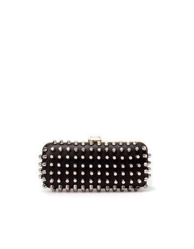 Clutch tachuelas Zara primavera/verano 12