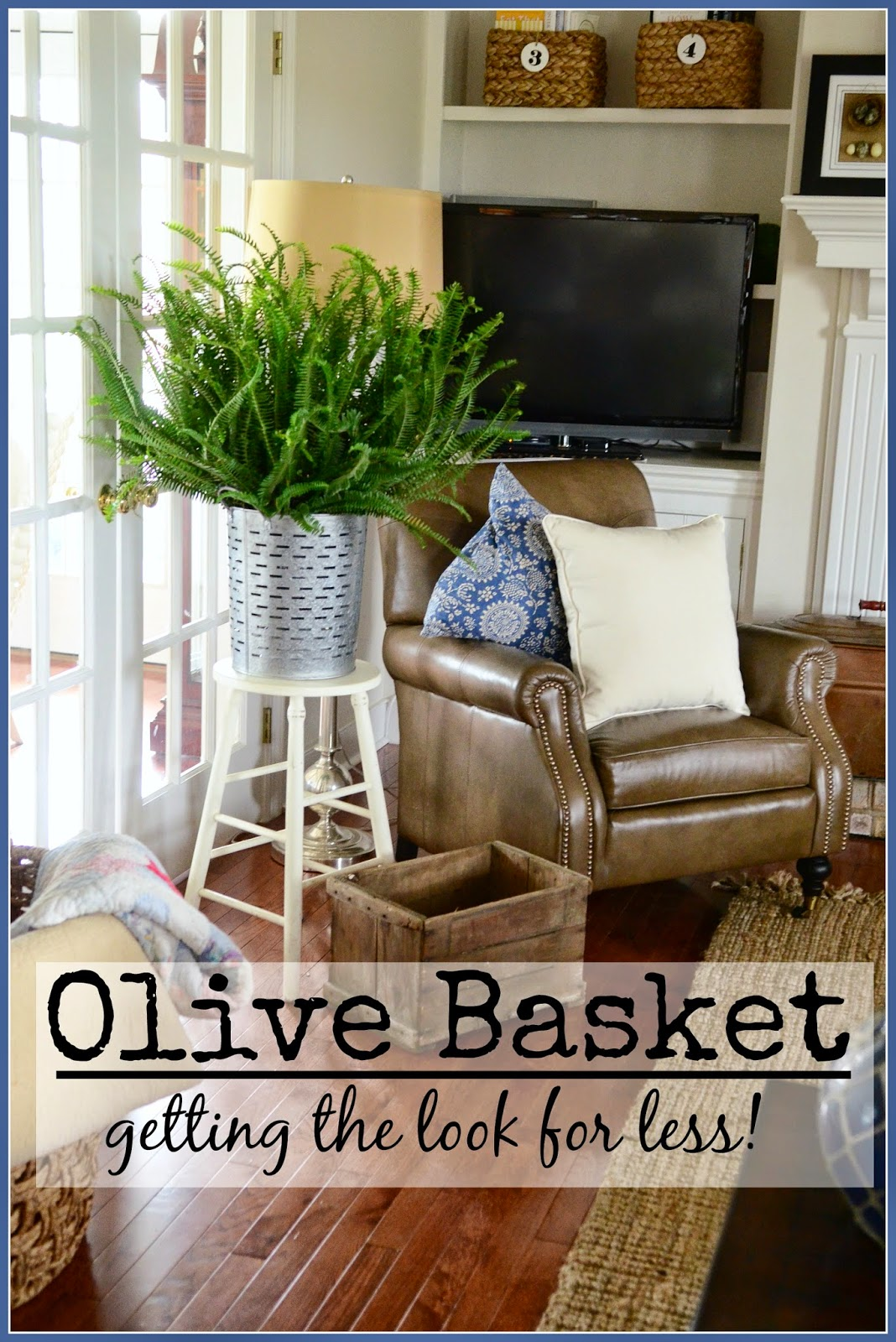 olive basket-get the look for less