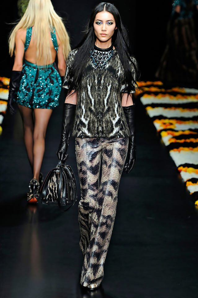 1001 fashion trends: Roberto Cavalli Fall-Winter 2012-2013