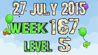 Angry Birds Friends Tournament level 5 Week 167