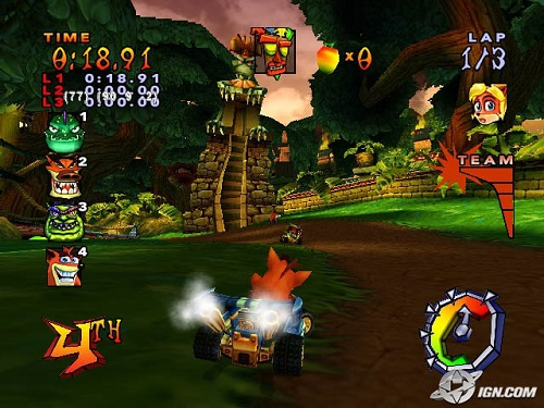 Download Game PS1 Crash Team Racing (CTR)